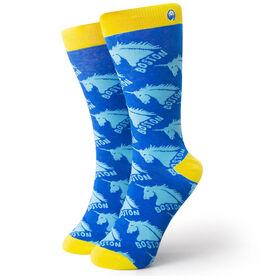 Men's Running Dress Socks - Run Boston