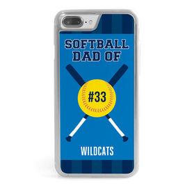 Softball iPhone® Case - Softball Dad