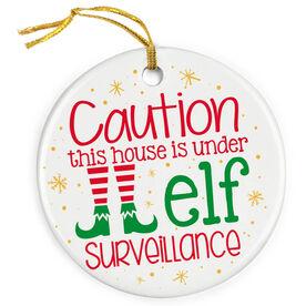 Porcelain Ornament - Elf Surveillance