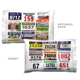 Running Pillowcase - Custom Race Bib (9 Bibs)