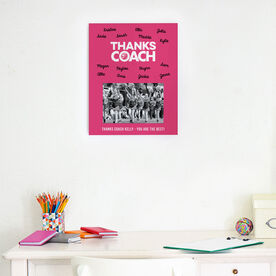 Cheerleading Photo Frame - Coach (Autograph)