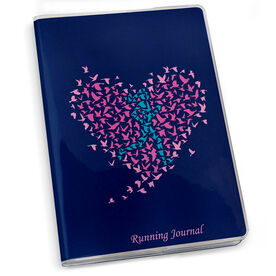 GoneForaRun Running Journal - Run With Your Heart