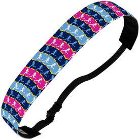 Running Juliband No-Slip Headband - Runner Girls Pattern