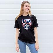 Soccer Short Sleeve T-Shirt - Soccer USA