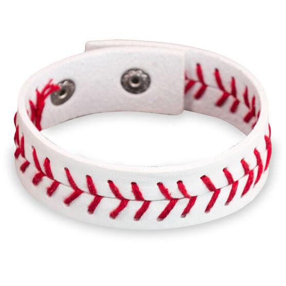 Authentic Baseball Leather Bracelet - SS