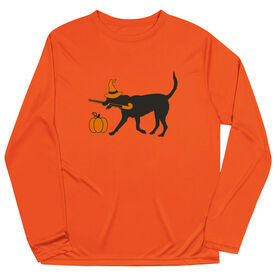 Field Hockey Long Sleeve Performance Tee - Witch Dog