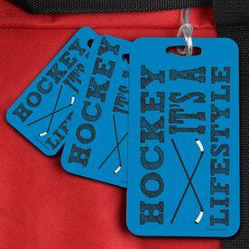 Hockey Bag/Luggage Tag Hockey It's a Lifestyle