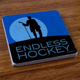 Endless Hockey - Stone Coaster