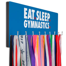 Gymnastics Hooked on Medals Hanger - Eat Sleep Gymnastics
