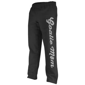 Hockey Fleece Sweatpants Hockey Goalie Mom