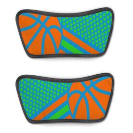 Basketball Repwell™ Sandal Straps - Basketball Dots