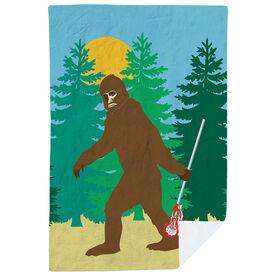Guys Lacrosse Premium Blanket - Bigfoot