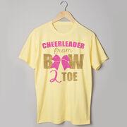 Cheerleading Tshirt Short Sleeve Cheerleader From Bow 2 Toe
