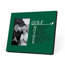 Golf Photo Frame - Mother Words