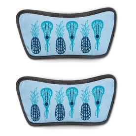 Girls Lacrosse Repwell® Sandal Straps - Pineapples