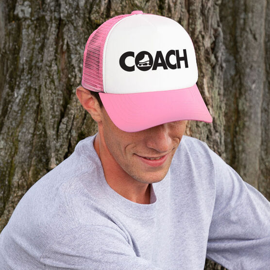 Figure Skating Trucker Hat - Coach