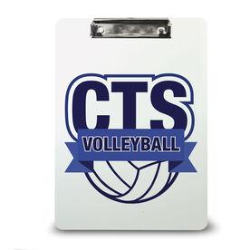 Volleyball Custom Clipboard Volleyball Your Logo