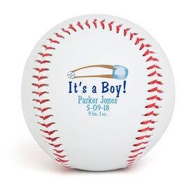 IT'S A BOY! Custom Baseball