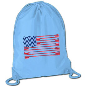 Crew Sport Pack Cinch Sack Crew American Flag
