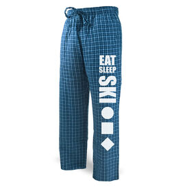 Skiing Lounge Pants Eat Sleep Ski