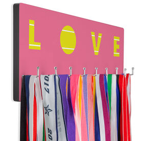Tennis Hooked on Medals Hanger - Tennis Love