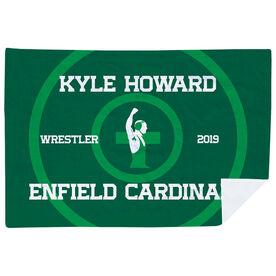 Wrestling Premium Blanket - Personalized Wrestling Team