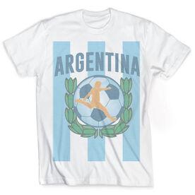 Vintage Soccer T-Shirt - Argentina