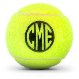 Personalized Monogram Circle Tennis Ball