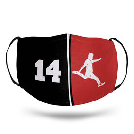 Soccer Face Mask - Personalized Player Male
