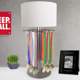 Baseball Tabletop Medal Display Lamp