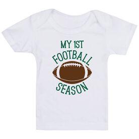 Football Baby T-Shirt - My First Football Season