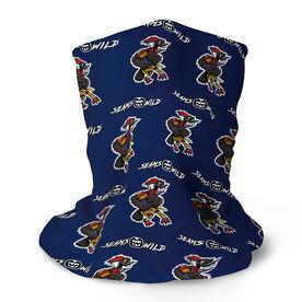 Seams Wild Football Multifunctional Headwear - Woodwind   (Pattern) RokBAND