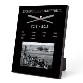Baseball Photo Frame - Team Roster