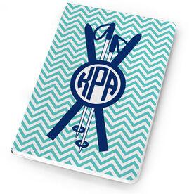 Skiing Notebook - Monogram