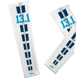 Printed Arm Sleeves 13.1 Road Stripe