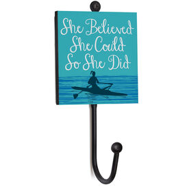 Crew Medal Hook - She Believed She Could So She Did