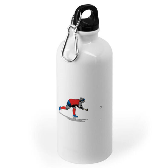 Field Hockey 20 oz. Stainless Steel Water Bottle - Go For The Goal