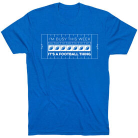 Football Short Sleeve T-Shirt - 24-7 Football