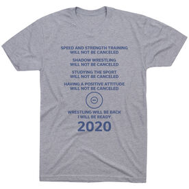 Wrestling Short Sleeve T-Shirt - Wrestling Will Be Back 2020 ($5 Donated to the American Red Cross)
