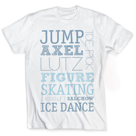 Vintage Figure Skating T-Shirt - Typographic