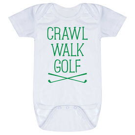 Golf Baby One-Piece - Crawl Walk Golf