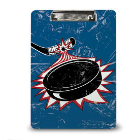 Hockey Custom Clipboard Slapshot Puck
