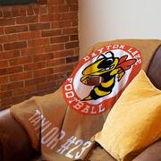 Football Premium Blanket - Custom Team Logo
