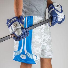 Digital Camo Hockey Shorts