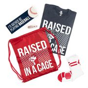 Baseball Swag Bagz - Raised In A Cage