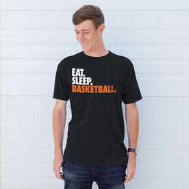 Basketball T-Shirt Short Sleeve Eat. Sleep. Basketball.