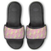Personalized Repwell® Slide Sandals - Llamas