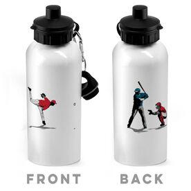 Baseball 20 oz. Stainless Steel Water Bottle - Go For The Home Run