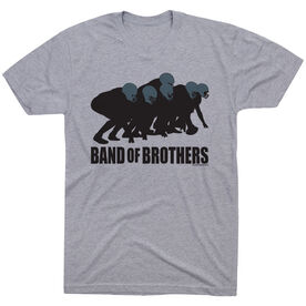 Football Tshirt Short Sleeve Football Band of Brothers
