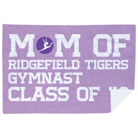 Gymnastics Premium Blanket - Personalized Gymnastics Mom